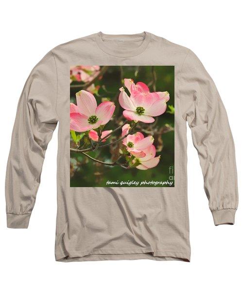 Dance Of The Dogwood Long Sleeve T-Shirt