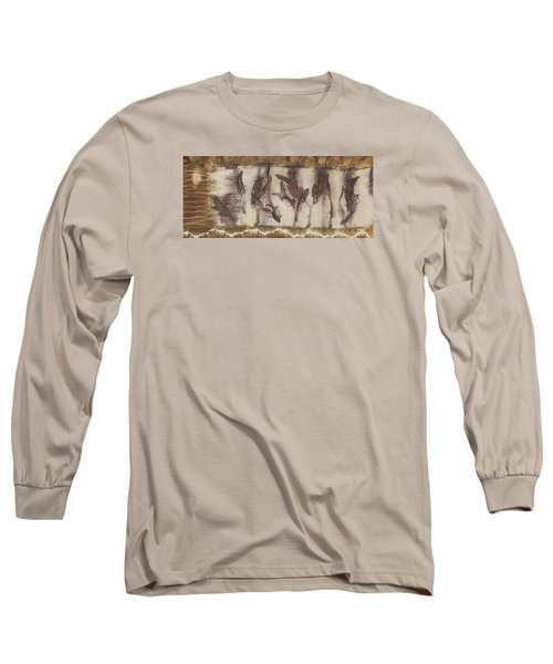 Dance Of The Eucalyptus Leaves Long Sleeve T-Shirt by Carolyn Doe