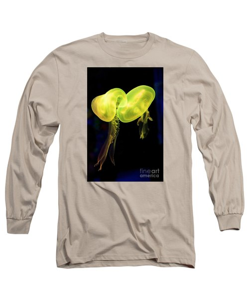 Long Sleeve T-Shirt featuring the photograph Dance Of The Jellies by Gary Bridger