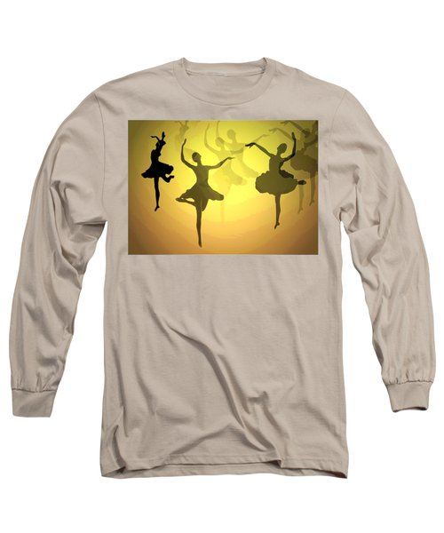 Long Sleeve T-Shirt featuring the photograph Dance With Us Into The Light by Joyce Dickens