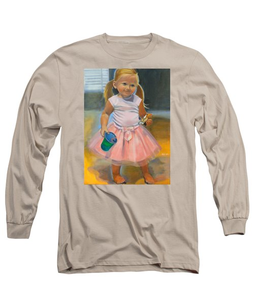 Dancer With Sippy Cup Long Sleeve T-Shirt by Kaytee Esser