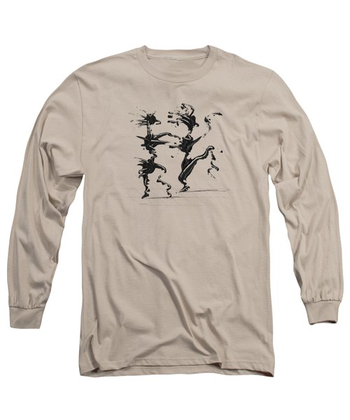 Dancing Couple 4 Long Sleeve T-Shirt