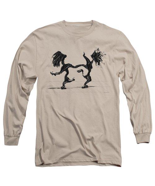 Dancing Couple 8 Long Sleeve T-Shirt