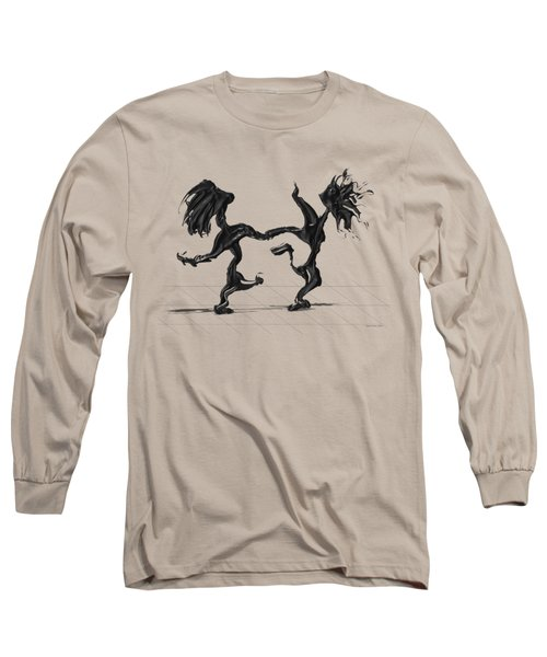 Dancing Couple 8 Long Sleeve T-Shirt