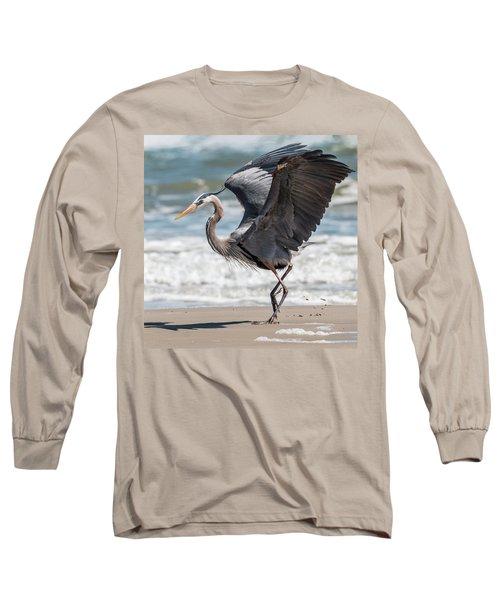 Dancing Heron #2/3 Long Sleeve T-Shirt