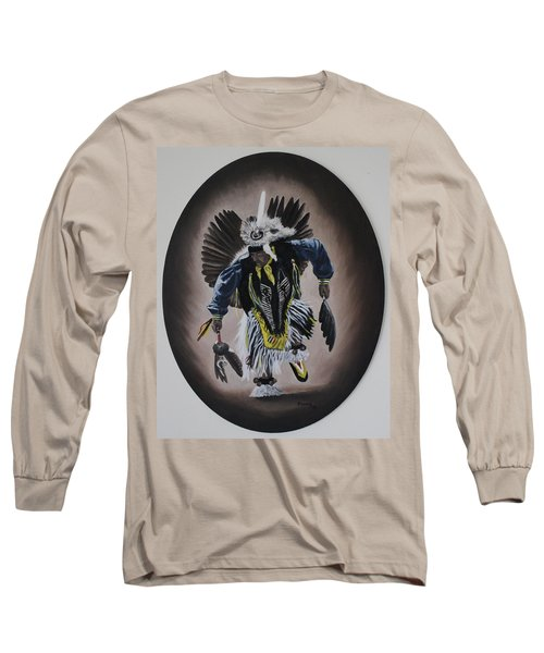 Long Sleeve T-Shirt featuring the painting Dancing In The Spirit by Michael  TMAD Finney