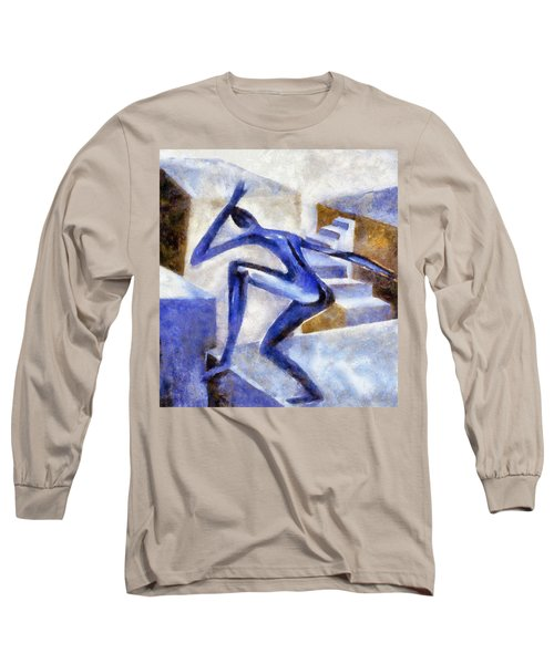 Dancing Off The Edge Of The World Long Sleeve T-Shirt