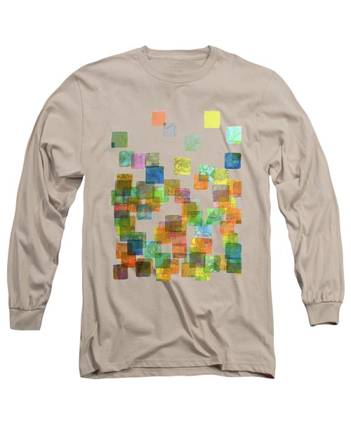 Dancing Squares Long Sleeve T-Shirt