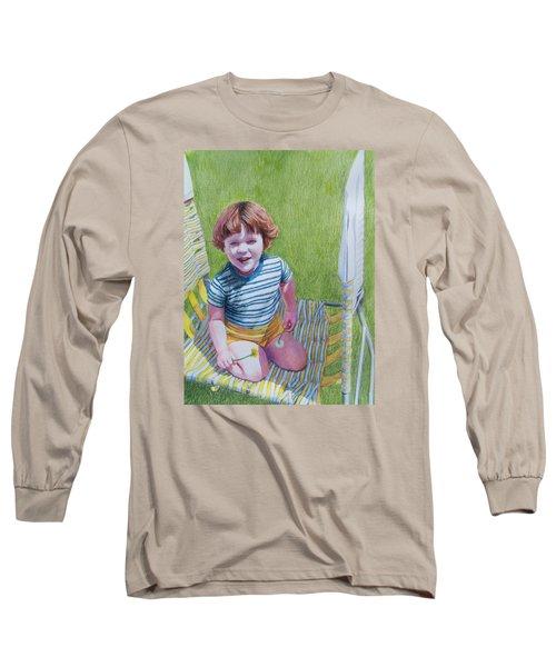 Dandelion Girl Long Sleeve T-Shirt by Constance DRESCHER