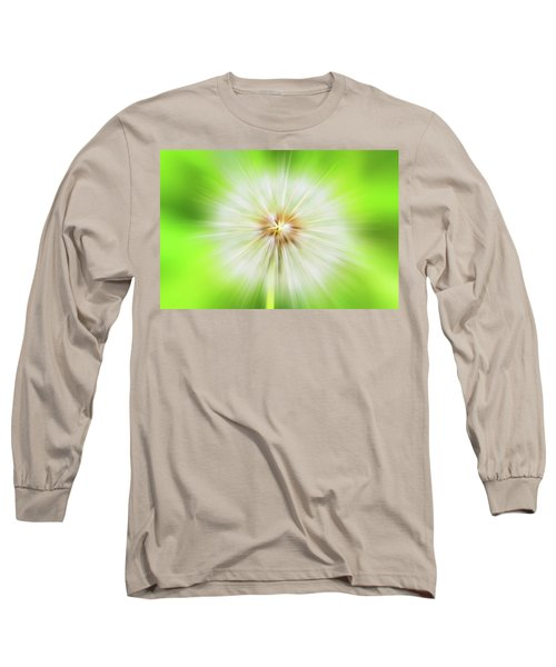 Dandelion Warp Long Sleeve T-Shirt by David Stasiak
