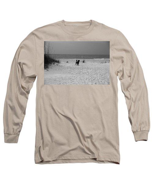 Dandy On The Beach Long Sleeve T-Shirt