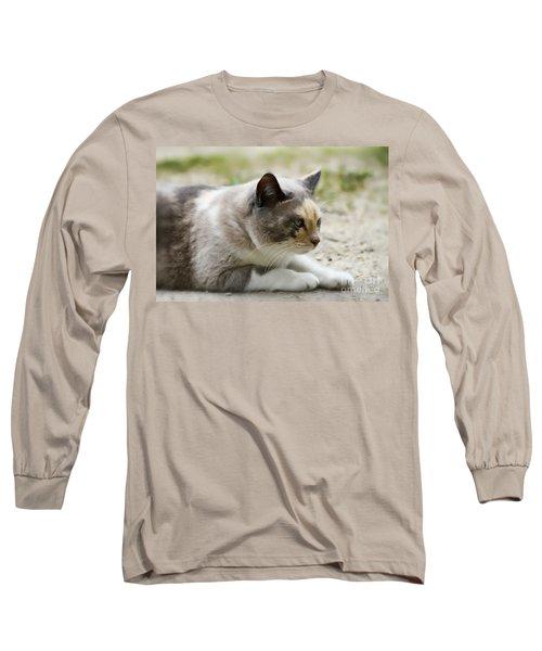 Danni Girl 2 Long Sleeve T-Shirt by Teresa Zieba