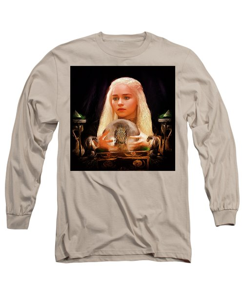 Dany Long Sleeve T-Shirt by Michael Cleere