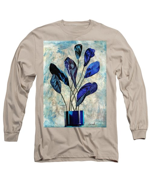 Dark Blue Long Sleeve T-Shirt