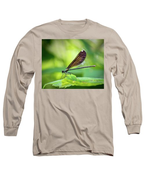 Long Sleeve T-Shirt featuring the photograph Dark Damsel by Bill Pevlor