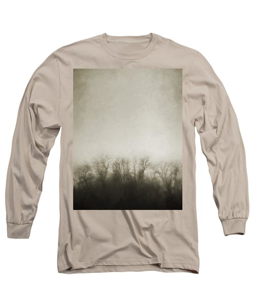 Dark Foggy Wood Long Sleeve T-Shirt