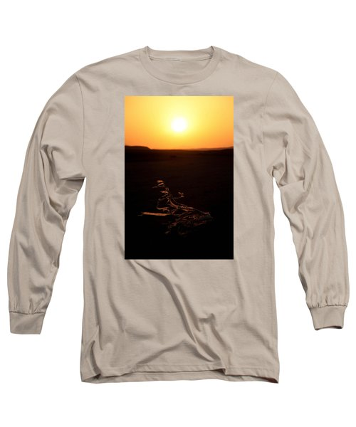 Long Sleeve T-Shirt featuring the photograph dark in the U K by Jez C Self