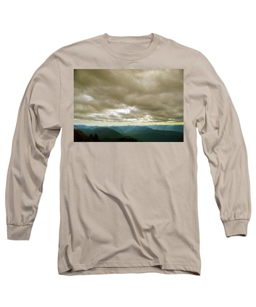 Dark Mountains Too Long Sleeve T-Shirt