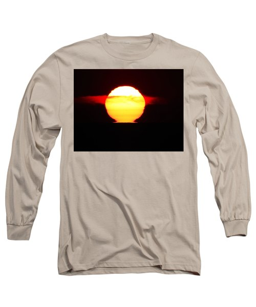 Dark Sunrise Long Sleeve T-Shirt by Kathy Long