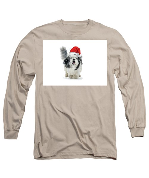 Dashing Through The Snow Long Sleeve T-Shirt by Keith Armstrong