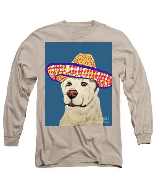Long Sleeve T-Shirt featuring the painting Date With Paint Sept 18 4 by Ania Milo