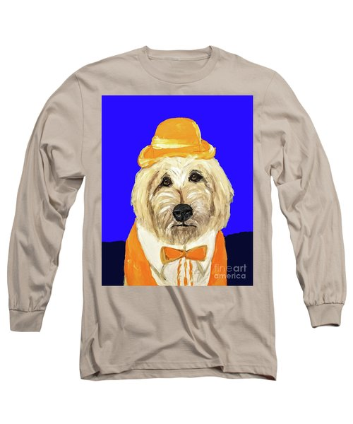 Long Sleeve T-Shirt featuring the painting Date With Paint Sept 18 6 by Ania Milo