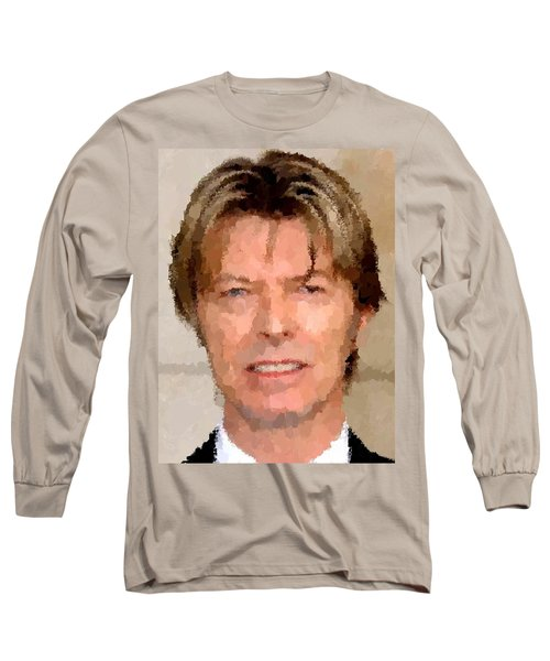 David Bowie Portrait Long Sleeve T-Shirt