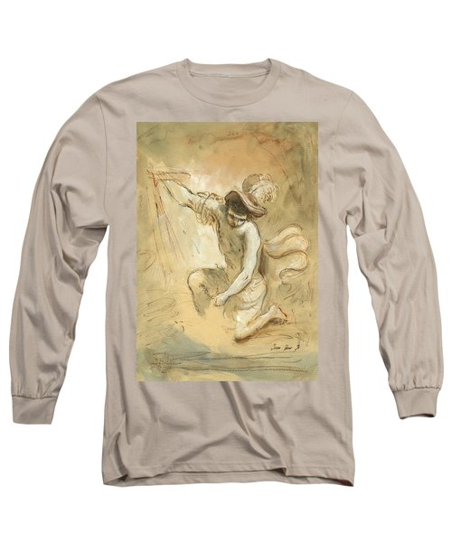 David Figure Drawing Long Sleeve T-Shirt
