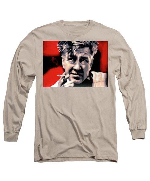 David Lynch Long Sleeve T-Shirt