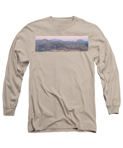 Dawn At Mirador De Ronda Long Sleeve T-Shirt
