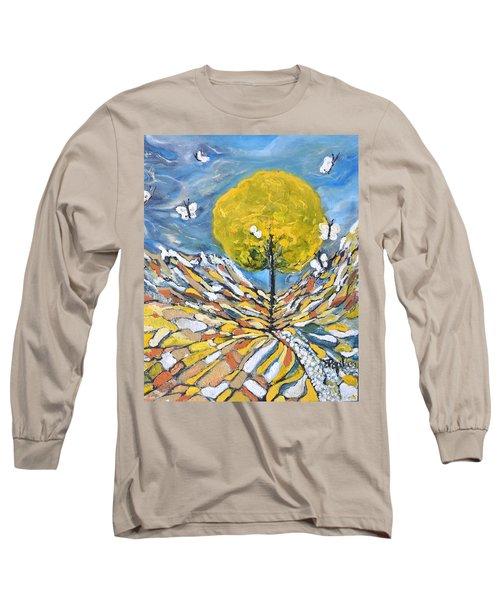 Daybreak Long Sleeve T-Shirt by Evelina Popilian
