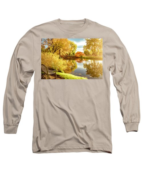Days Last Rays Long Sleeve T-Shirt by Kristal Kraft