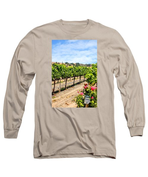 Days Of Vines And Roses Long Sleeve T-Shirt by Chris Smith