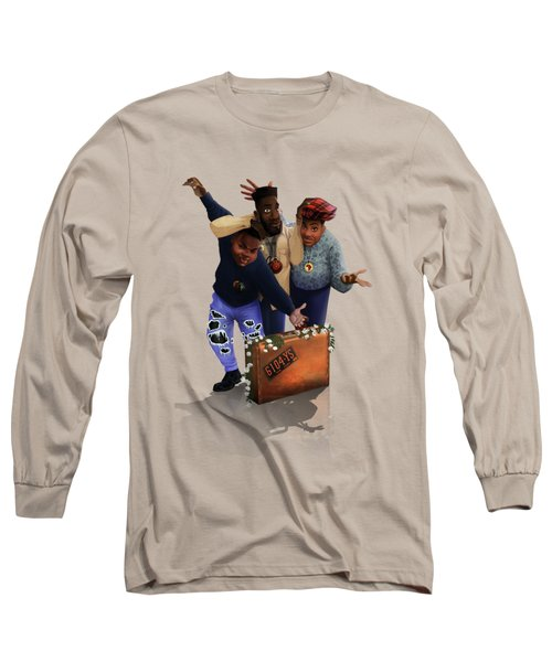 De La Soul Long Sleeve T-Shirt by Nelson  Dedos Garcia