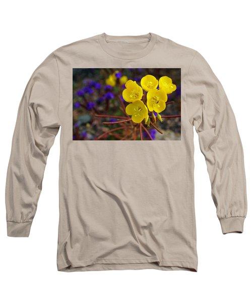 Death Valley Superbloom 206 Long Sleeve T-Shirt by Daniel Woodrum