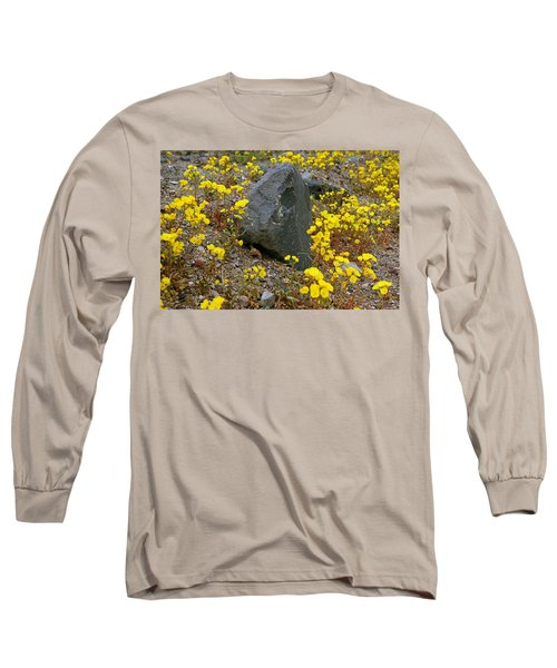 Long Sleeve T-Shirt featuring the photograph Death Valley Superbloom 406 by Daniel Woodrum