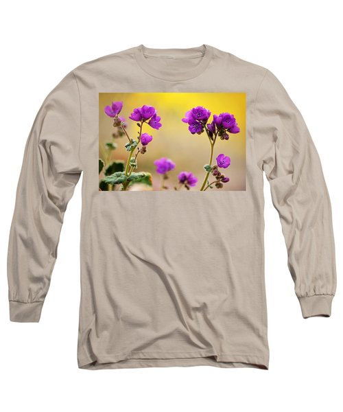 Long Sleeve T-Shirt featuring the photograph Death Valley Superbloom 506 by Daniel Woodrum