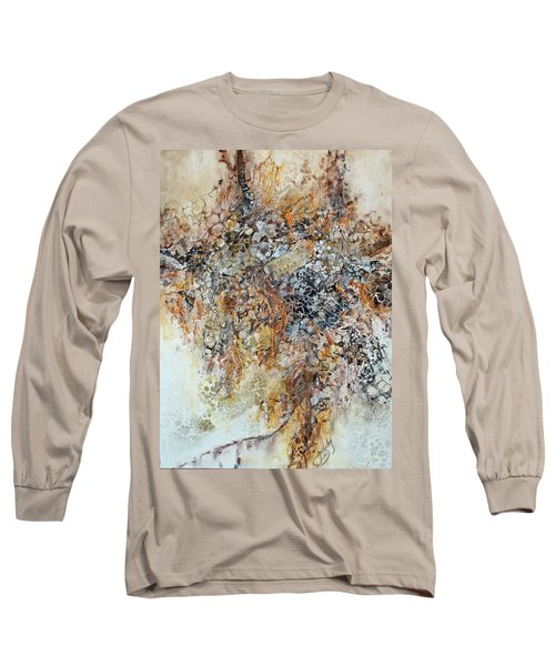 Long Sleeve T-Shirt featuring the painting Decomposition  by Joanne Smoley