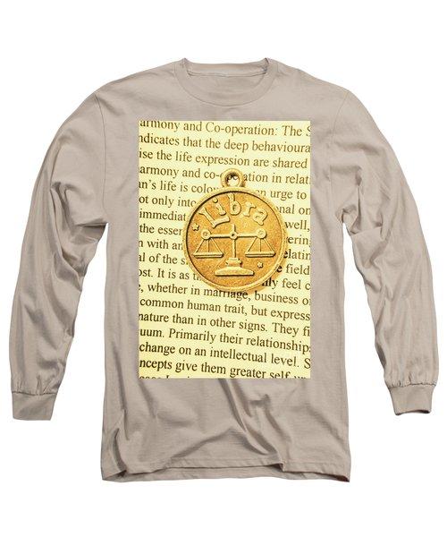 Decoration Of Libra Long Sleeve T-Shirt