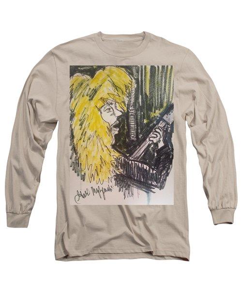 Def Leppard Love Bites Long Sleeve T-Shirt by Geraldine Myszenski