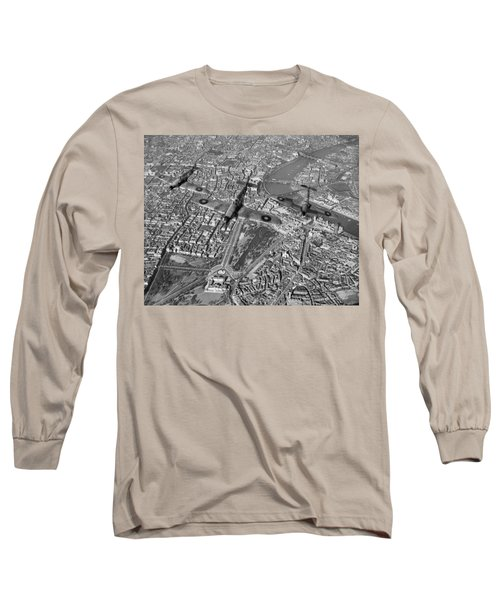 Long Sleeve T-Shirt featuring the photograph Defence Of The Realm by Gary Eason