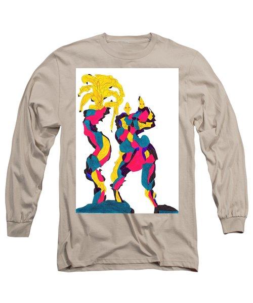 Definism Island Long Sleeve T-Shirt by Darrell Black