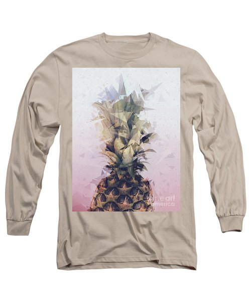 Defragmented Pineapple Long Sleeve T-Shirt