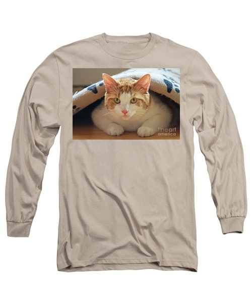 Long Sleeve T-Shirt featuring the photograph Delectable Companion.. by Nina Stavlund