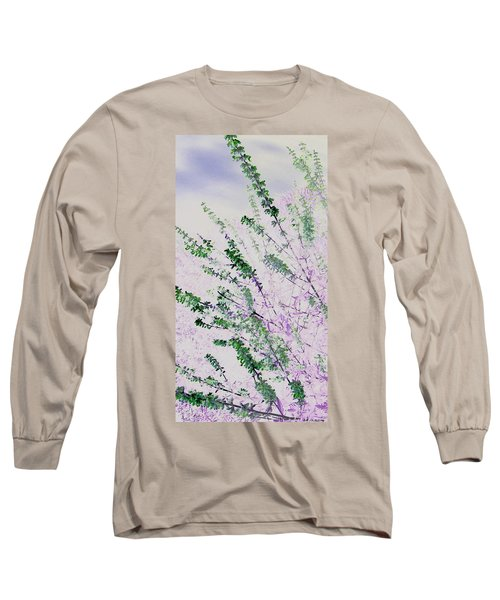 Delicacy Long Sleeve T-Shirt by Lenore Senior
