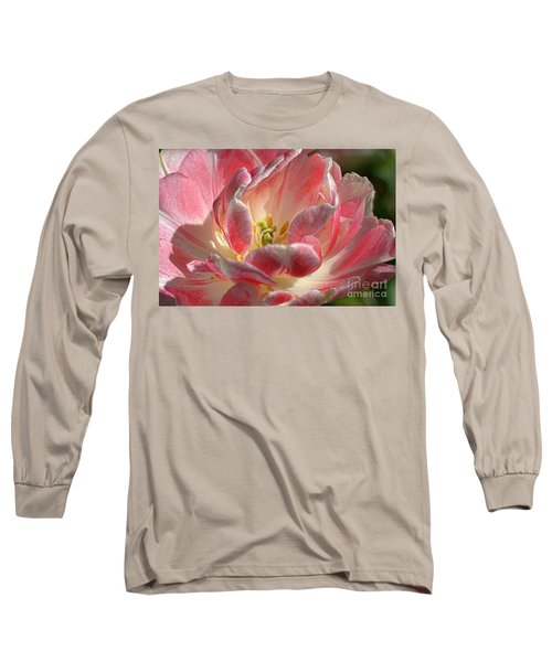 Delicate Long Sleeve T-Shirt by Diana Mary Sharpton