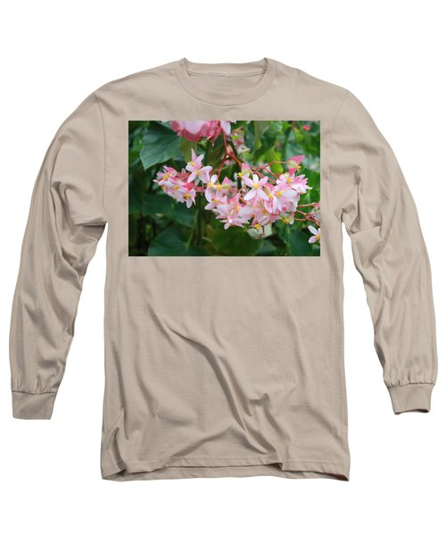 Long Sleeve T-Shirt featuring the photograph Delicate Flowers by Karen Nicholson