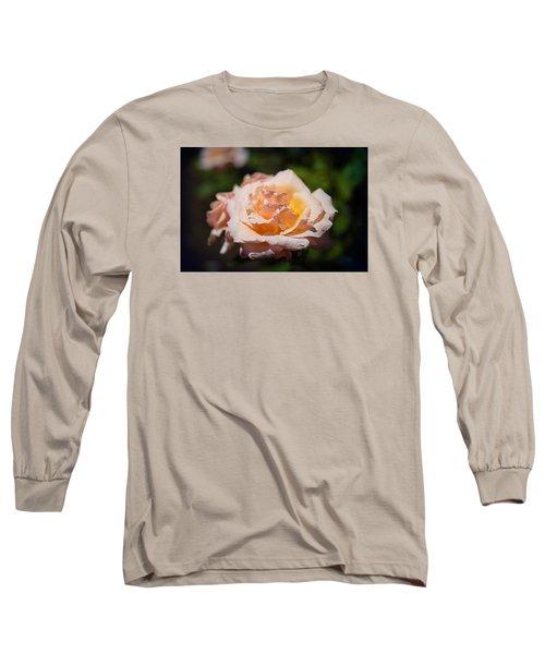 Delicate Rose Long Sleeve T-Shirt