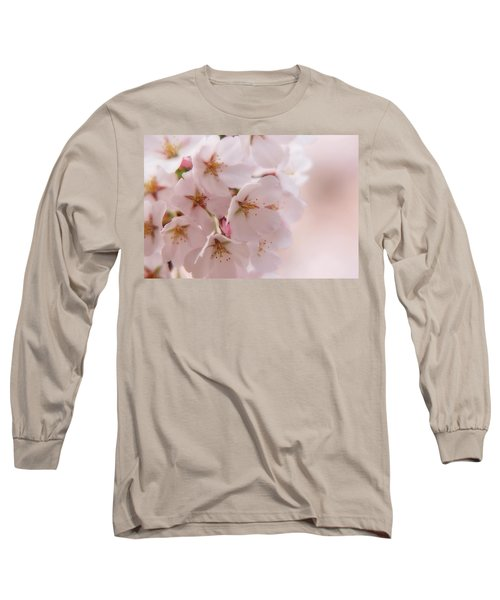 Delicate Spring Blooms Long Sleeve T-Shirt