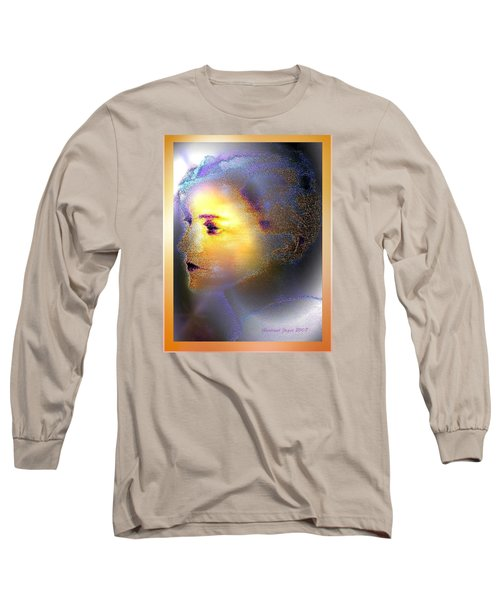 Delicate  Woman Long Sleeve T-Shirt